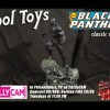 Classic Black Panther Statue